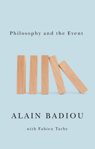 Philosophy and the Event   2013 edition cover