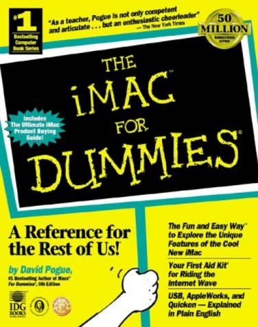 iMac for Dummies   1998 9780764504952 Front Cover