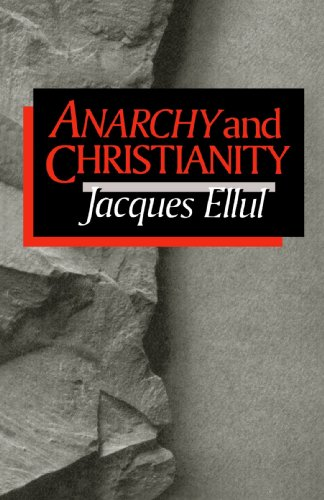 Anarchy and Christianity N/A edition cover
