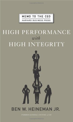 High Performance with High Integrity   2008 edition cover