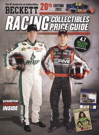 Beckett Racing Collectibles Price Guide No. 20: 2012 Edition  2012 9781936681952 Front Cover
