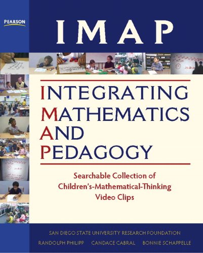 IMAP Integrating Mathematics and Pedagogy Searchable Collection of Children's Mathematical Thinking Video Clips  2012 (Revised) 9780132098953 Front Cover