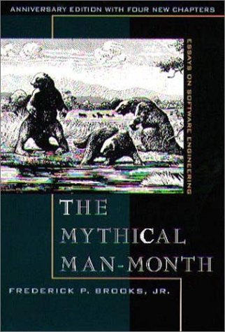 Mythical Man-Month  2nd 1996 (Revised) edition cover