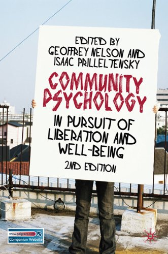 Community Psychology In Pursuit of Liberation and Well-Being 2nd 2010 (Revised) edition cover