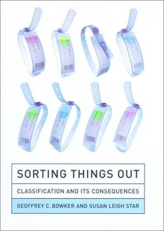 Sorting Things Out Classification and Its Consequences  2000 (Reprint) edition cover