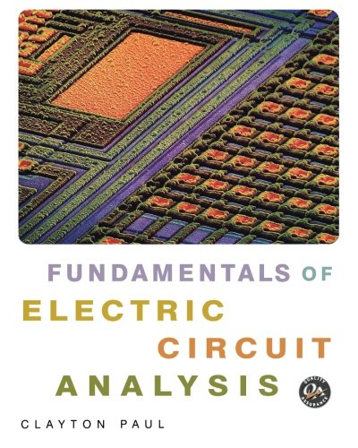 Fundamentals of Electric Circuit Analysis   2001 9780471371953 Front Cover