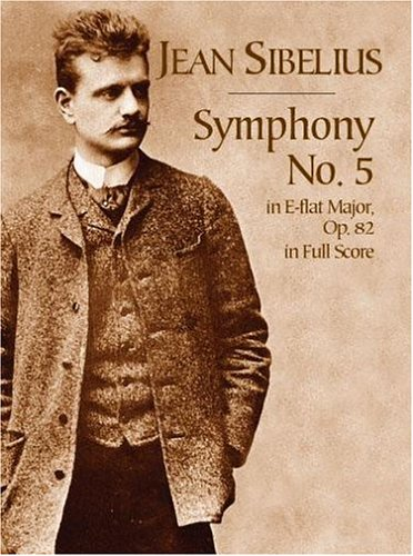Symphony No. 5 in E-Flat Major, Op. 82, in Full Score  N/A edition cover