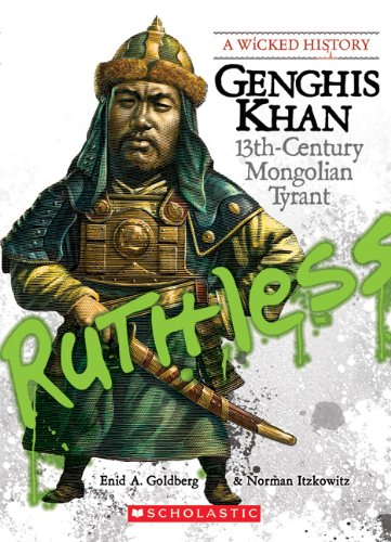 Genghis Khan 13th Century Mongolian Tyrant  2008 edition cover