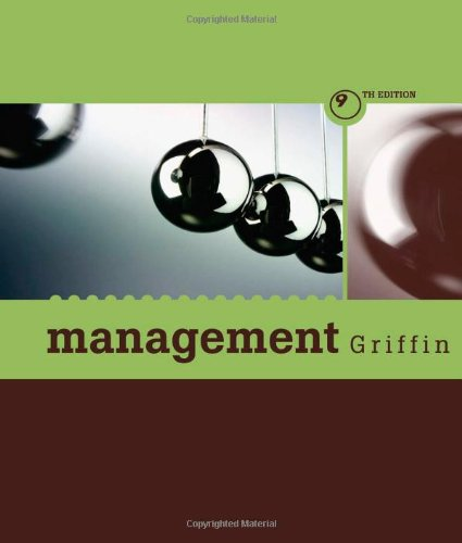 Management 9e  9th 2008 9780618767953 Front Cover