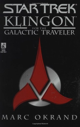 Klingon for the Galactic Traveler   1997 edition cover