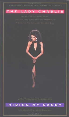 Hiding My Candy The Autobiography of the Grand Empress of Savannah  1997 edition cover