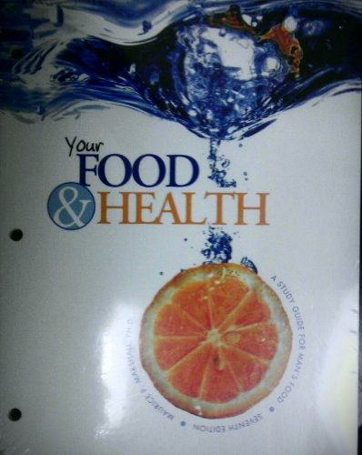 Your Food and Health A Study Guide for Man's Food 7th (Revised) edition cover