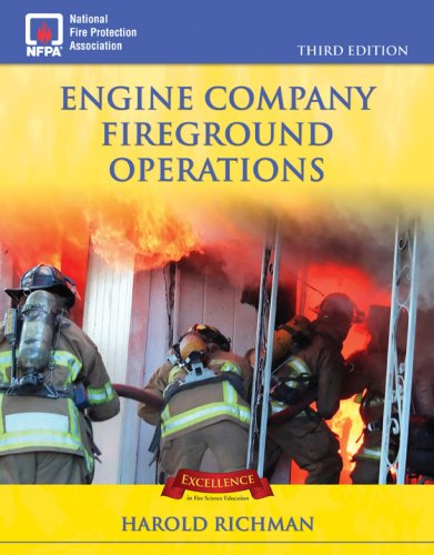 Engine Company Fireground Operations  3rd 2008 (Revised) edition cover