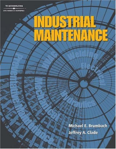 Industrial Maintenance   2004 edition cover