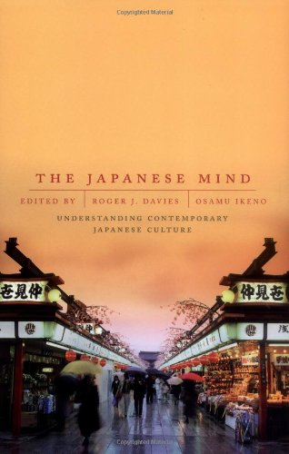 Japanese Mind Understanding Contemporary Japanese Culture 3rd 2001 edition cover