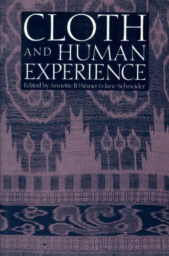Cloth and Human Experience  N/A 9780874749953 Front Cover