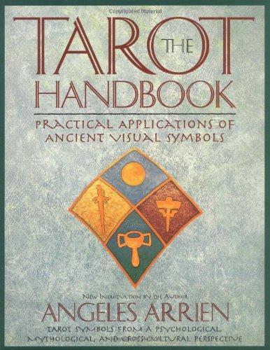 Tarot Handbook Practical Applications of Ancient Visual Symbols  1997 (Revised) 9780874778953 Front Cover