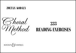 Choral Method 333 Reading Exercises N/A edition cover