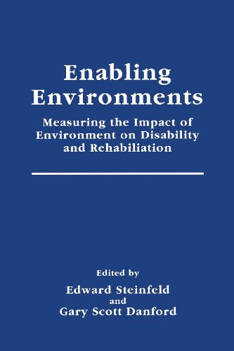 Enabling Environments Measuring the Impact of Environment on Disability and Rehabilitation  1999 edition cover