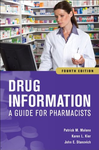 Drug Information A Guide for Pharmacists 4th 2012 edition cover