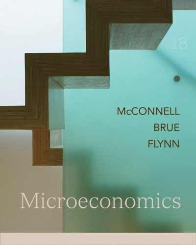 Microeconomics 18th 2009 edition cover