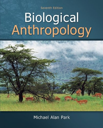 Biological Anthropology  7th 2013 edition cover