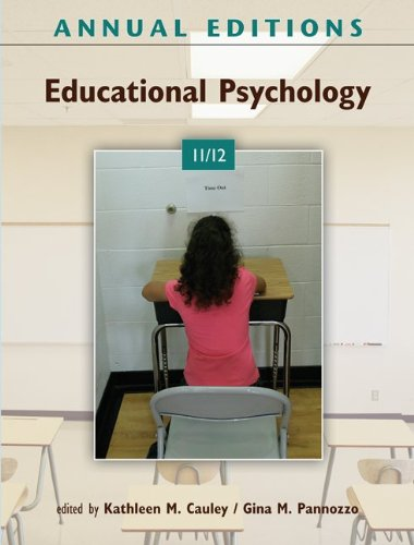 Annual Editions: Educational Psychology 11/12  26th 2012 edition cover