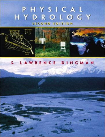 Physical Hydrology  2nd 2002 edition cover