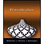 Precalculus:   2007 edition cover