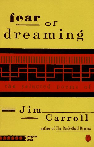 Fear of Dreaming The Selected Poems N/A edition cover
