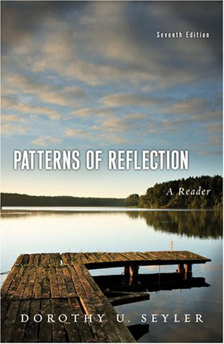 Patterns of Reflection A Reader 7th 2009 edition cover