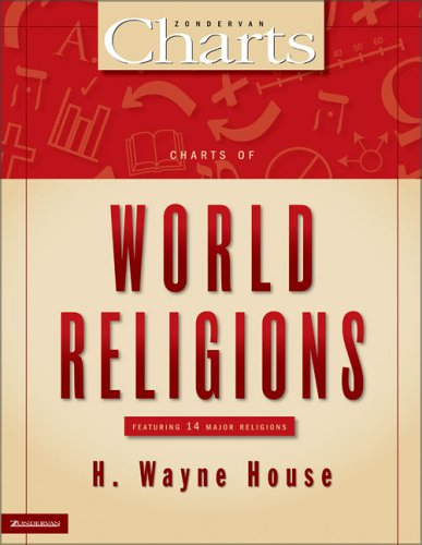 Charts of World Religions   2006 edition cover