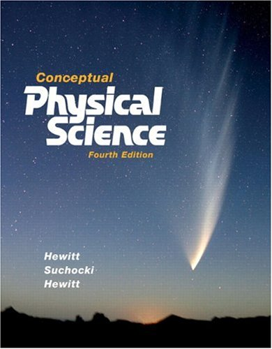 Conceptual Physical Science  4th 2008 edition cover