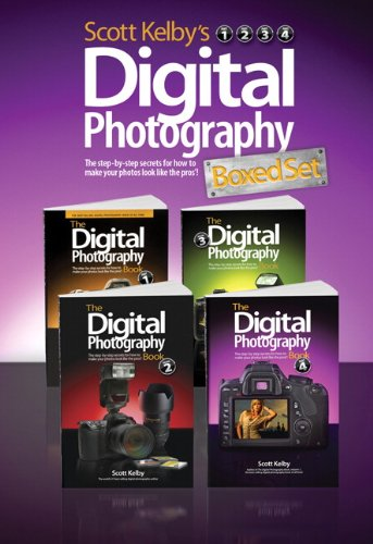 Scott Kelby's Digital Photography Boxed Set, Parts 1, 2, 3, And 4   2012 (Revised) edition cover