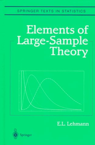 Elements of Large-Sample Theory  2nd 1999 edition cover