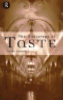Sociology of Taste   1997 edition cover