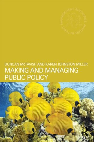Making and Managing Public Policy   2014 edition cover
