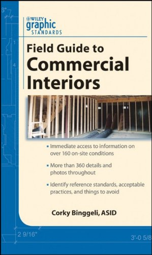 Graphic Standards Field Guide to Commercial Interiors   2009 edition cover