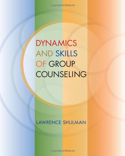 Dynamics and Skills of Group Counseling   2011 edition cover