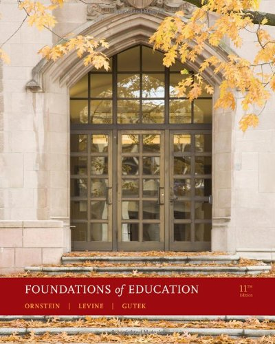 Foundations of Education  11th 2011 edition cover