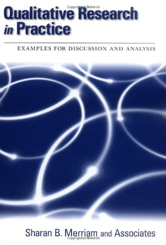 Qualitative Research in Practice Examples for Discussion and Analysis  2002 9780787958954 Front Cover
