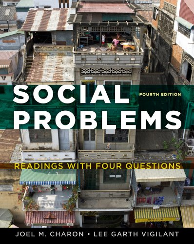 Social Problems Readings with Four Questions 4th 2012 edition cover