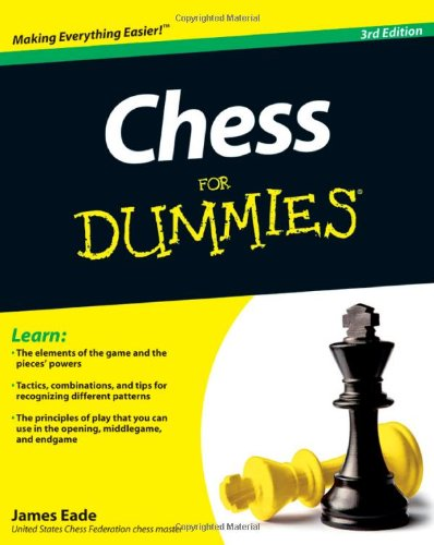 Chess for Dummies�  3rd 2011 edition cover