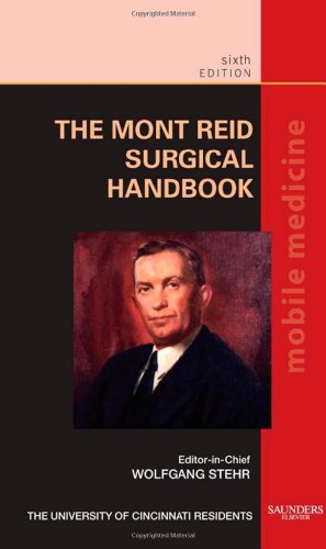 Mont Reid Surgical Handbook Mobile Medicine Series 6th 2008 edition cover