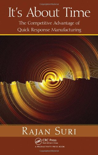 It's about Time The Competitive Advantage of Quick Response Manufacturing  2010 edition cover