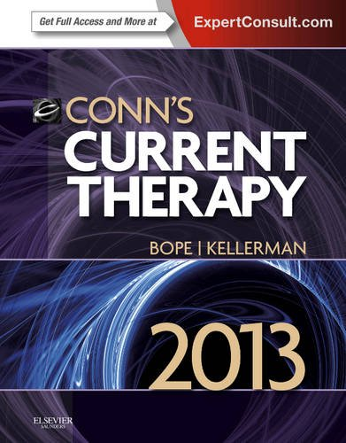 Conn's Current Therapy 2013 Expert Consult: Online and Print  2013 edition cover