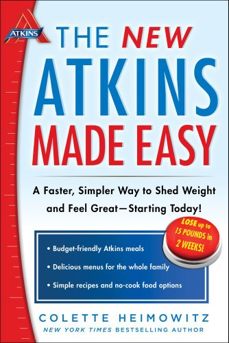 New Atkins Made Easy A Faster, Simpler Way to Shed Weight and Feel Great -- Starting Today! N/A 9781476729954 Front Cover