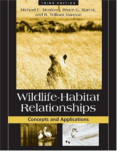 Wildlife-Habitat Relationships Concepts and Applications 3rd 2006 edition cover