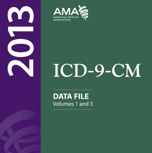 ICD-9-CM 2013 Data Files, Single User:   2012 edition cover