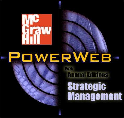 Strategic Management with PowerWeb and Case TUTOR Card  13th 2003 9780072493955 Front Cover